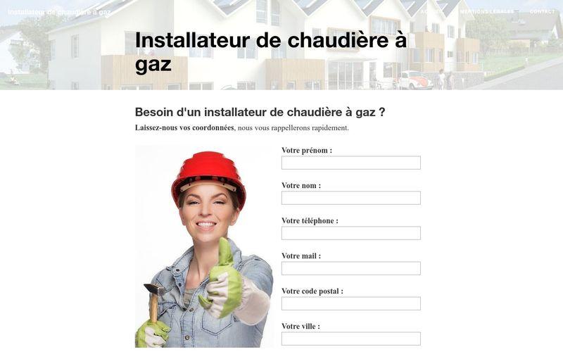 Qui contacter pour l'installation d'une chaudière à gaz ?