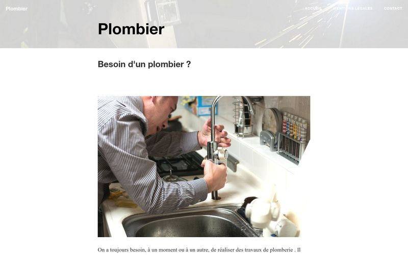 Le plombier, un professionnel pour vos fuites et infiltrations